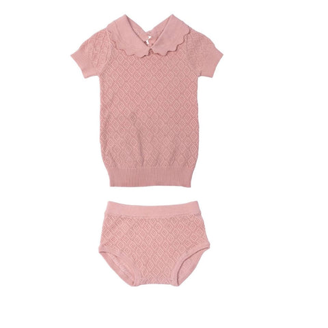 Manteau Junior Reversible Black / Pink Down Coat