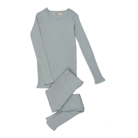 Urbani Slate Striped Pj's