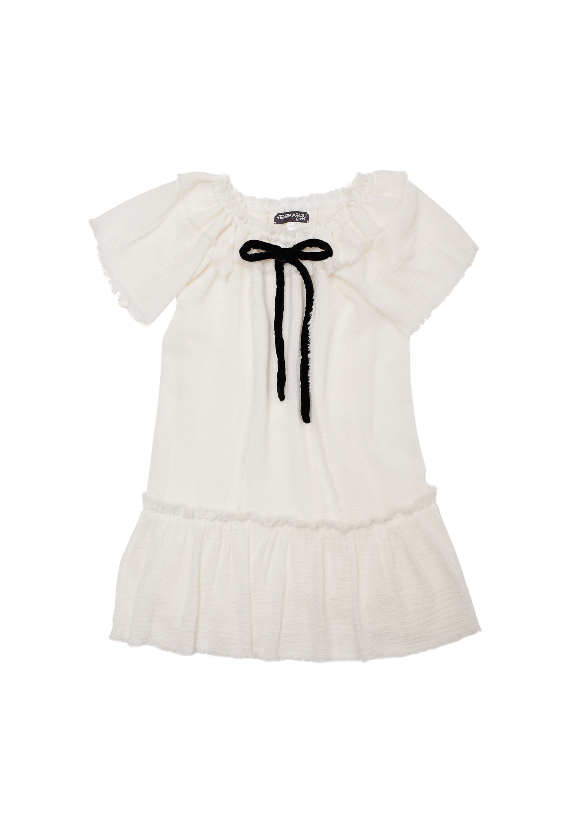 Venera Arapu Ivory Cocofeel Dress