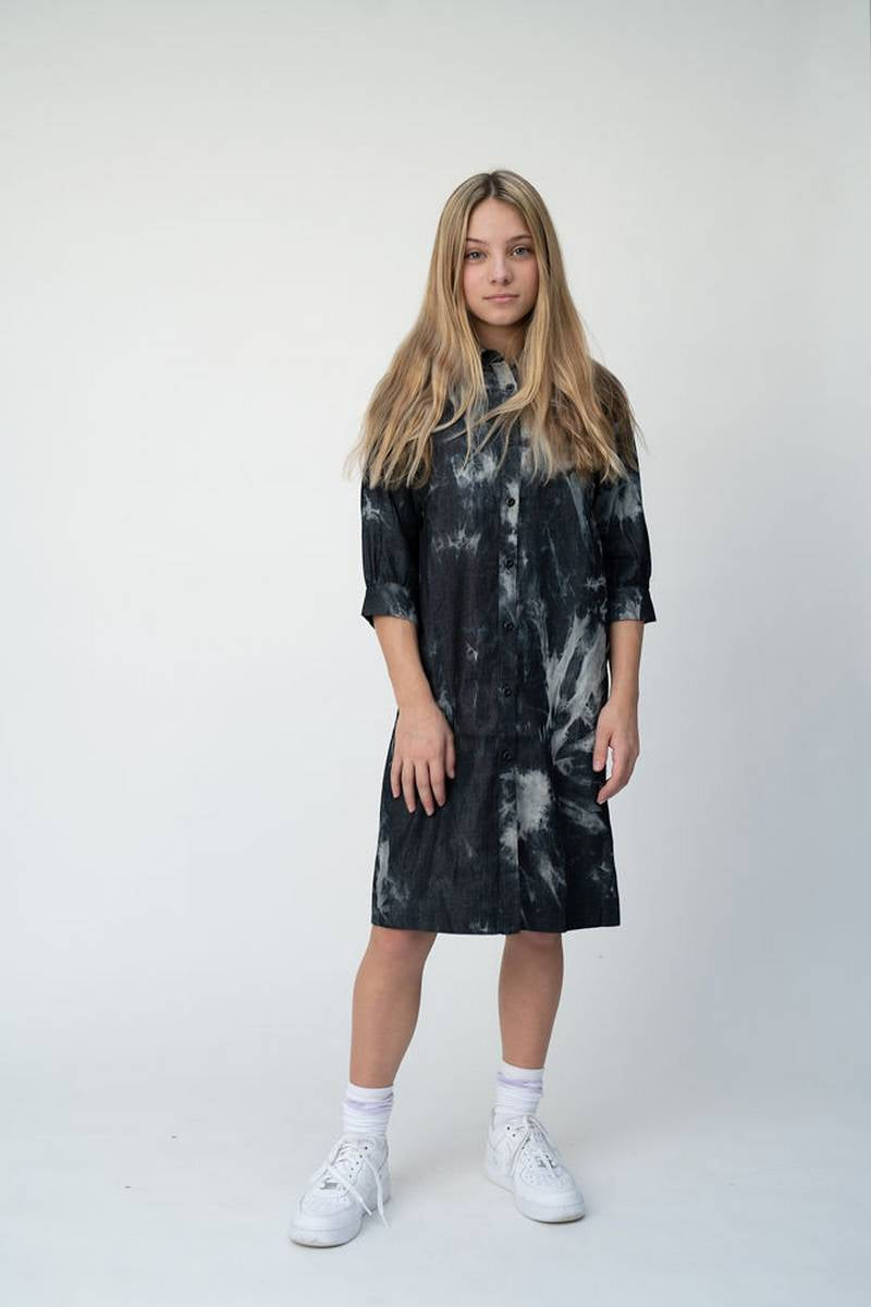 Vibe Black Melrose Dress