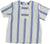 Violeta Blue Big Stripe Vida Shirt