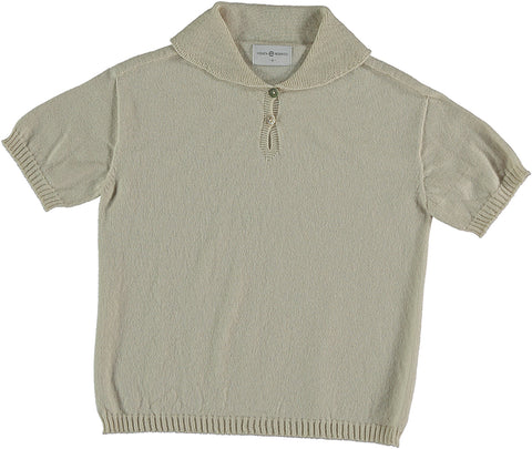 Violeta Bone Knit Polo