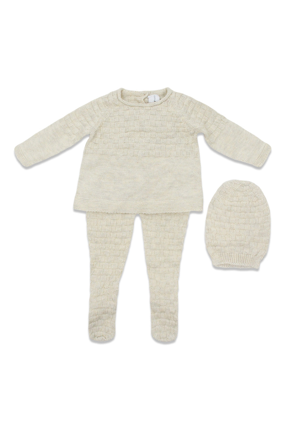 Violeta Bone Knitted Baby Set