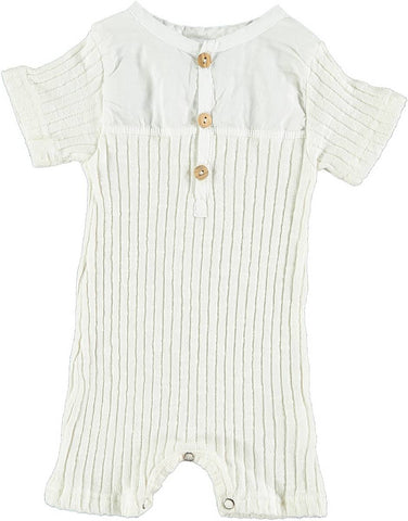 Violeta Bone Mix Romper