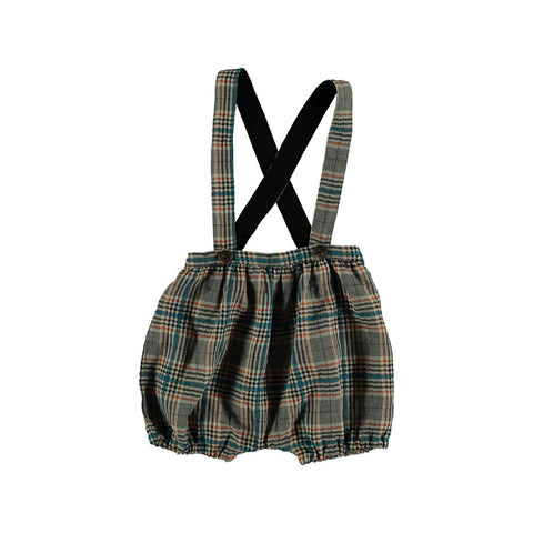 Violeta Brown Plaid Bloomers