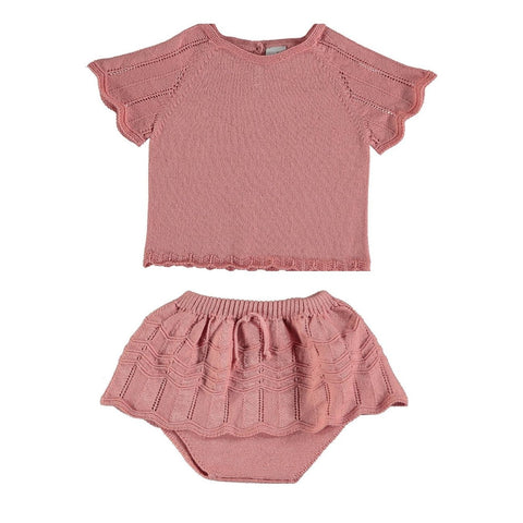 Violeta Camelia Knit Dance Set