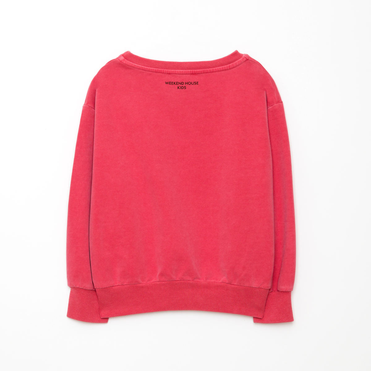 Weekend House Kid Red Tree Sweatshirt