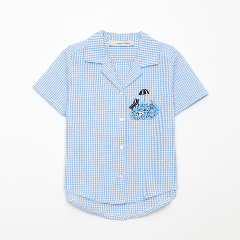 Weekend House Kids Blue Pool Shirt