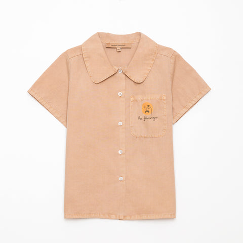 Weekend House Kids Camel Flamingo Shirt