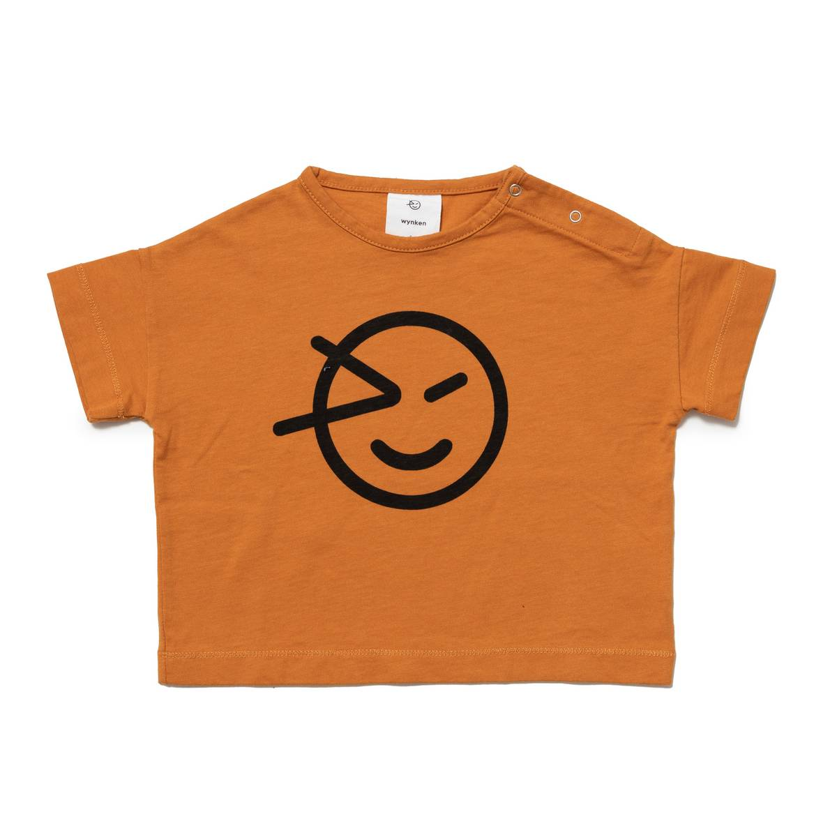 Wynken Burnt Orange Face T-Shirt