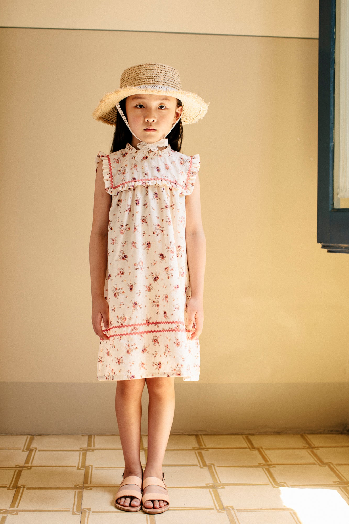 Bebe Organic Laura Old Flowers Dress