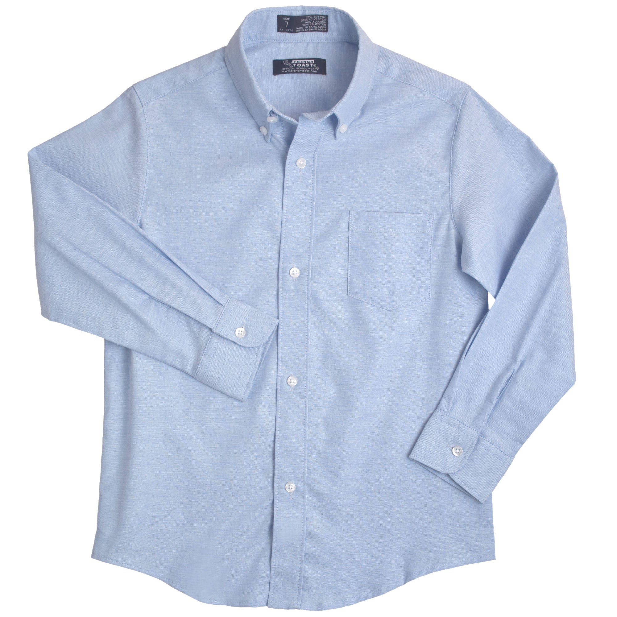 French Toast Boys Long Sleeve Oxford Shirt - Young Timers Boutique  - 1