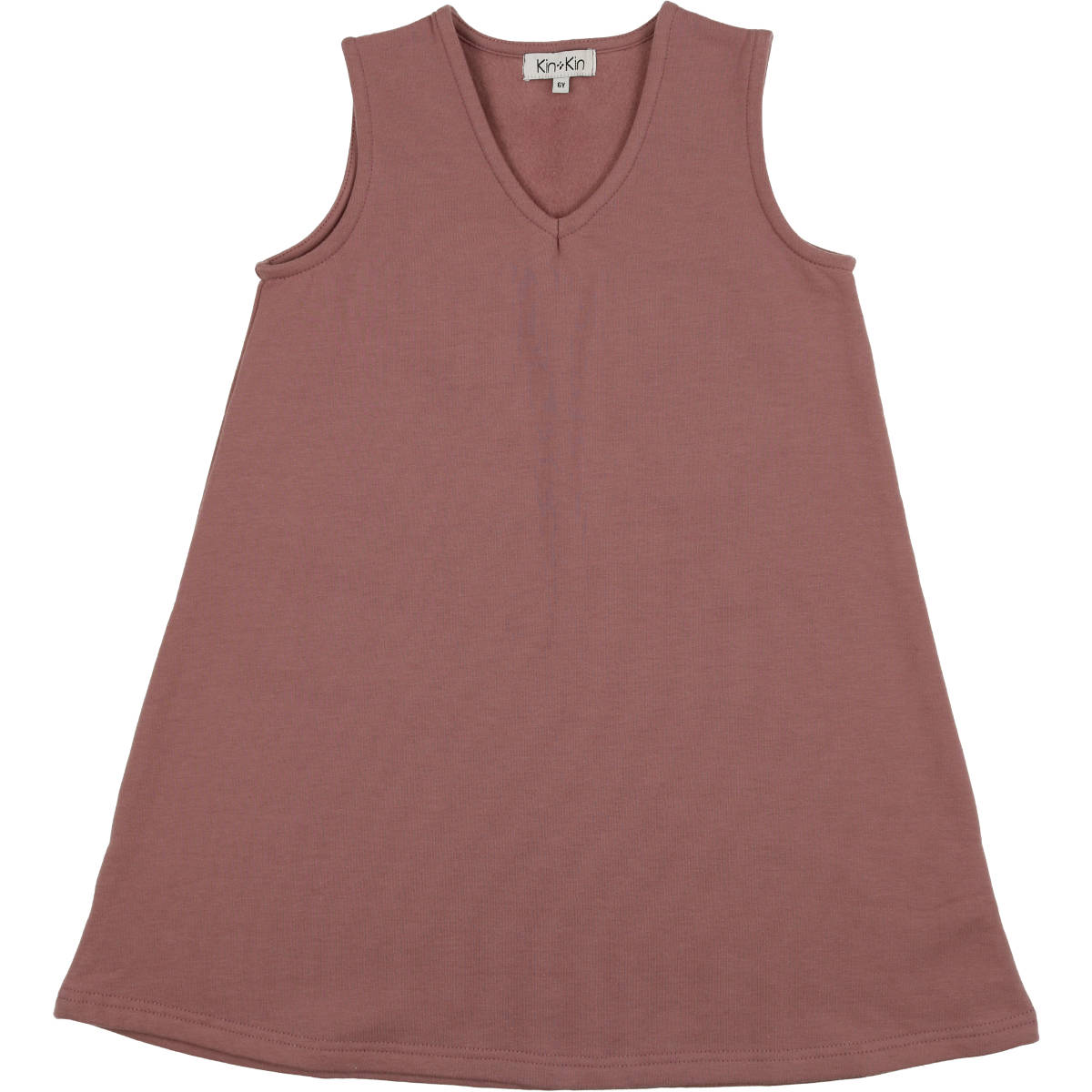 Kin Kin Mauve V-Neck Sweat Dress
