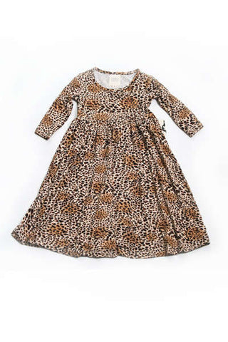 Madeleine Leopard Swing Dress