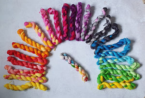 25 mini skein set