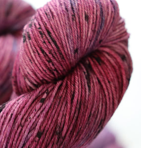 Marvellous Mulberry merino/nylon sock/4ply