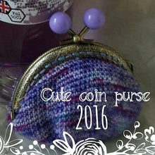 Load image into Gallery viewer, Crochet mini purse kit