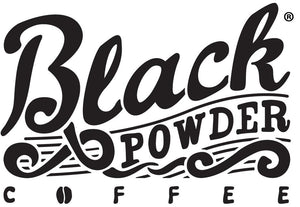 Shop Black Powder Coffee Merchandise and Coffee Brewing Equipment