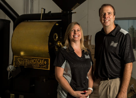 Dave & Melissa Stahlman - Owners of Black Powder Coffee