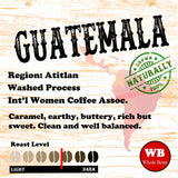 Guatemala Atitlan Region Single Origin Organic Coffee Beans
