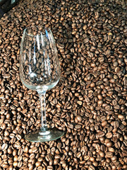 small batch wine infused coffee