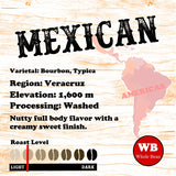 Mexican Chiapas Veracruz Region Single Origin Coffee Beans