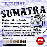 Sumatra Natural Reserve Mutu Batak Single Origin Coffee Beans