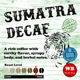 Sumatra Swiss Water Process Single Origin Organic Coffee Beans