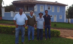 Fazenda do Salto coffee farmer