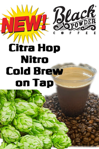 Citra Hop Nitro Cold Brew Coffee