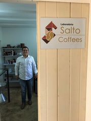 Fabio Araujo Reis Salto Coffee Farms in Brazil
