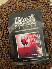 Cabernet wine infused coffee