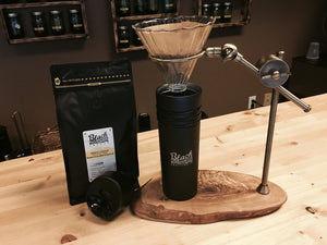 Pour-Over, Artisan Coffee Stand Industrial