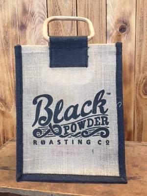 Black Powder Roasting Co Jute Bags