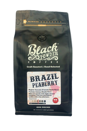Brazil Peaberry Craft Roasted Coffee