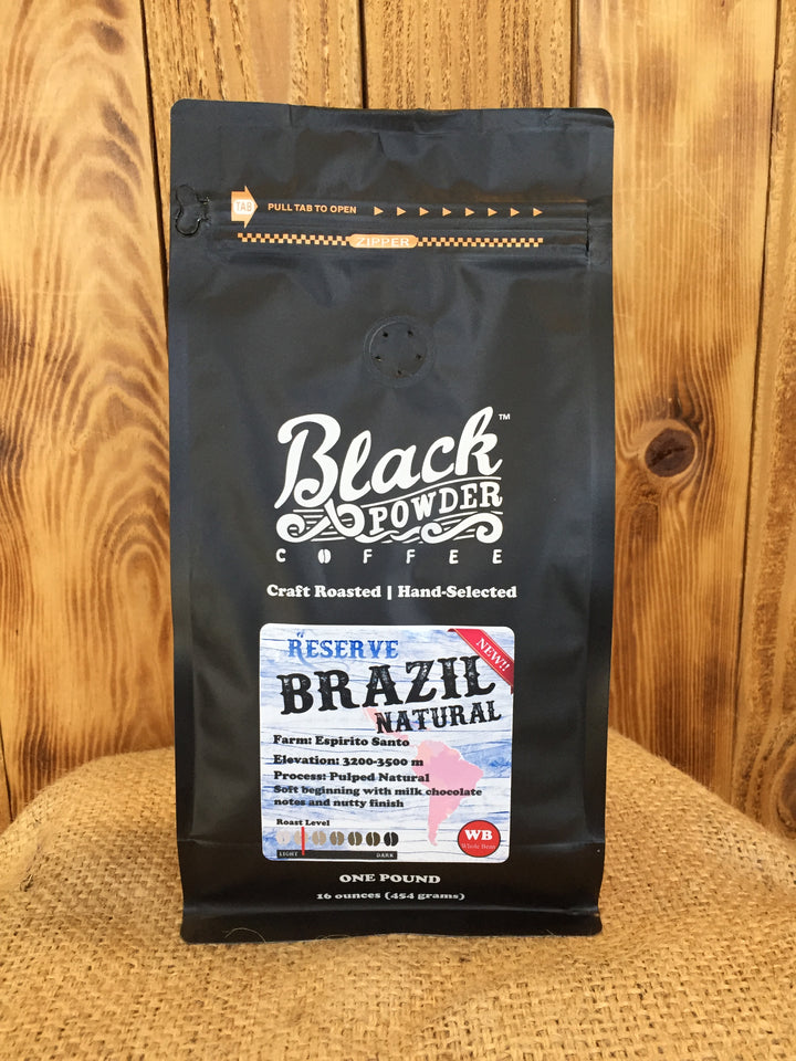Brazil Natural Reserve Craft Roasted Coffee - Single Origin