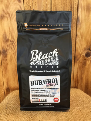 Burundi Microlot Craft Roasted Coffee