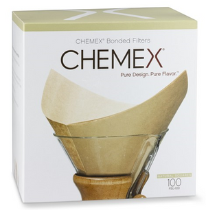 Filters, Unbleached Square for ChemEx coffee maker