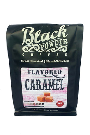 caramel coffee local roasted small batch
