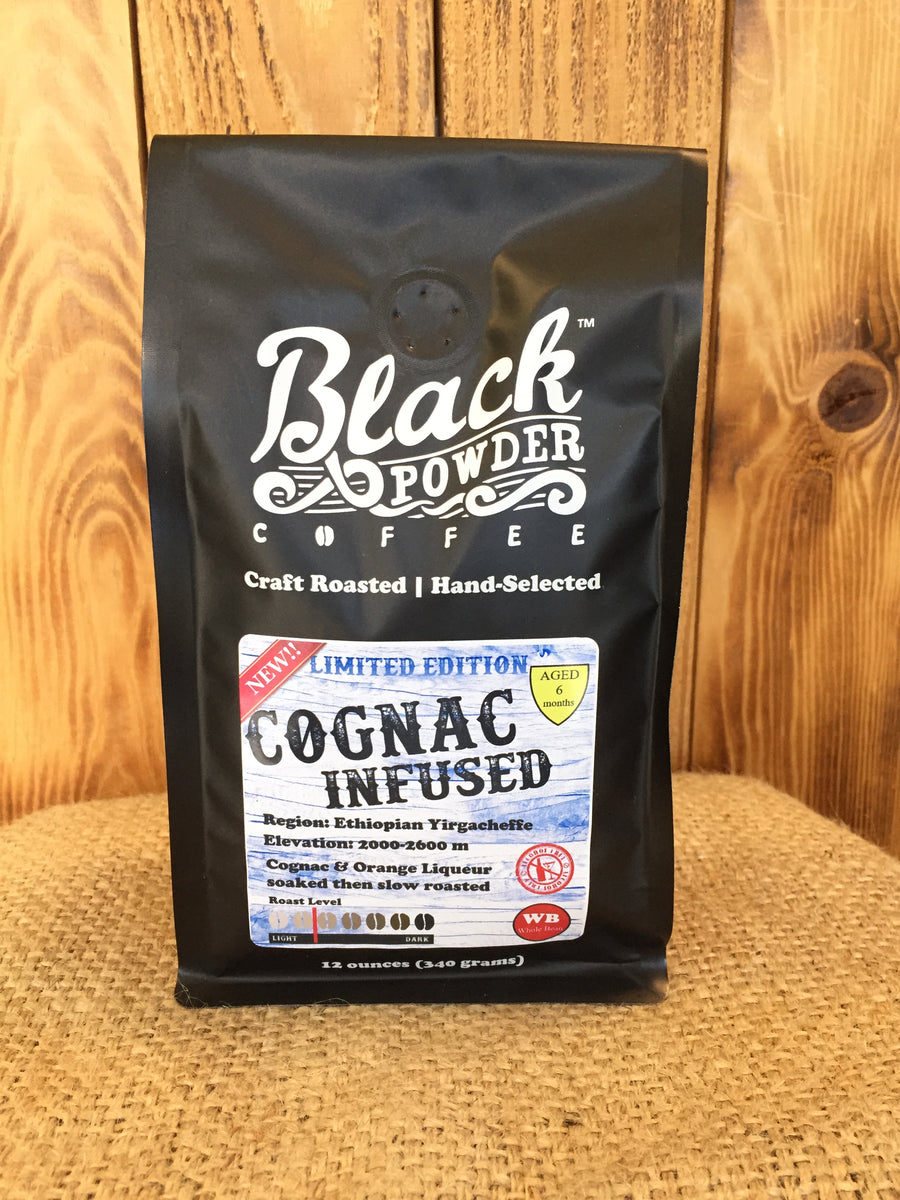 Cognac Infused Craft Roasted Coffee