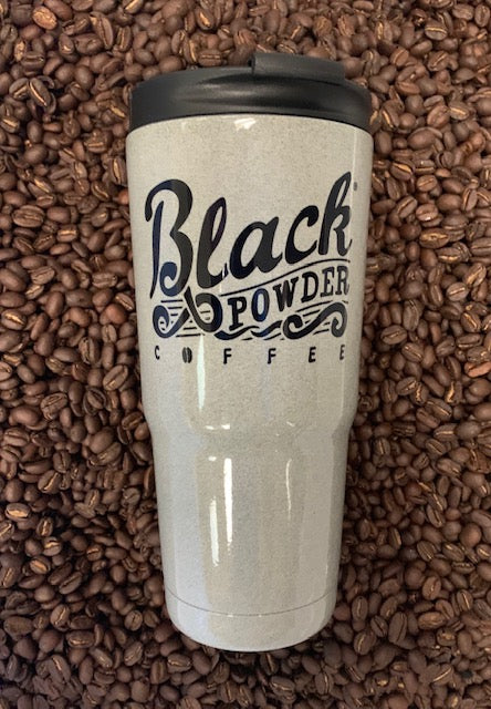 Black Powder Coffee light ash 22oz tumblers