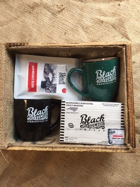 Holiday Blend Coffee Gift Bundle with K Cups