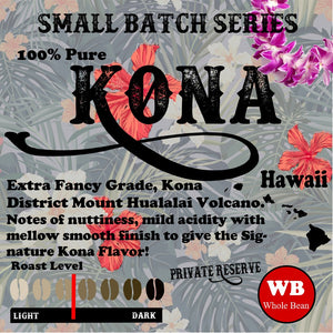 Kona Coffee from Hawaii Small Batch Limited Release