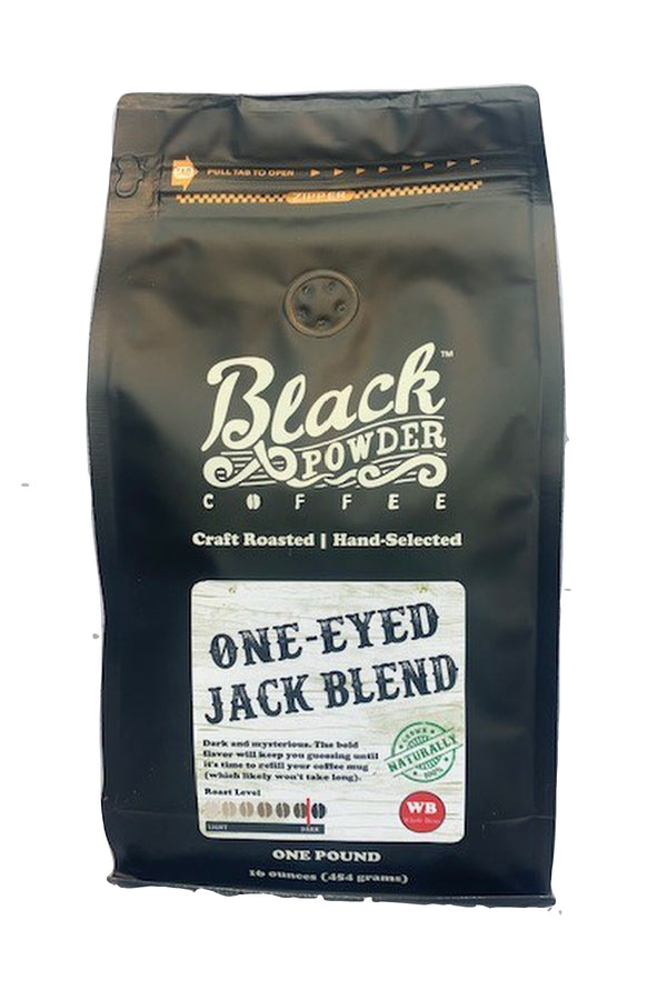 one eyed jack dark roast coffee