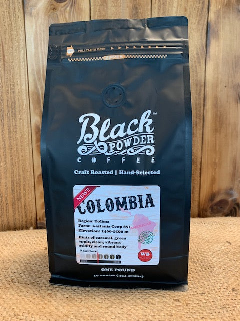 Organically Grown Colombian Coffee