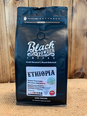 Organic Fair Trade Ethiopian Coffee Beans