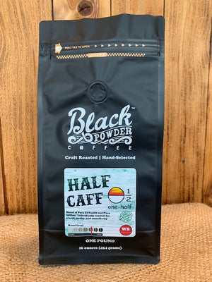 Organically Grown Half Caffeinated Coffee Beans