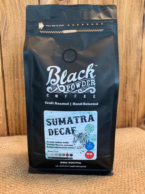 Organic Sumatra Decaf Craft Roasted Coffee