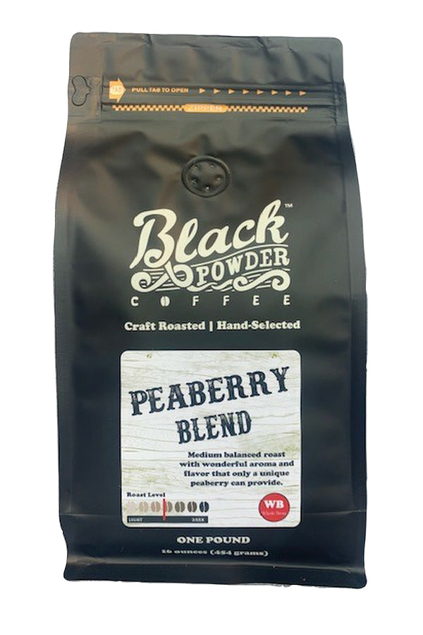 hand selected peaberry blend coffee