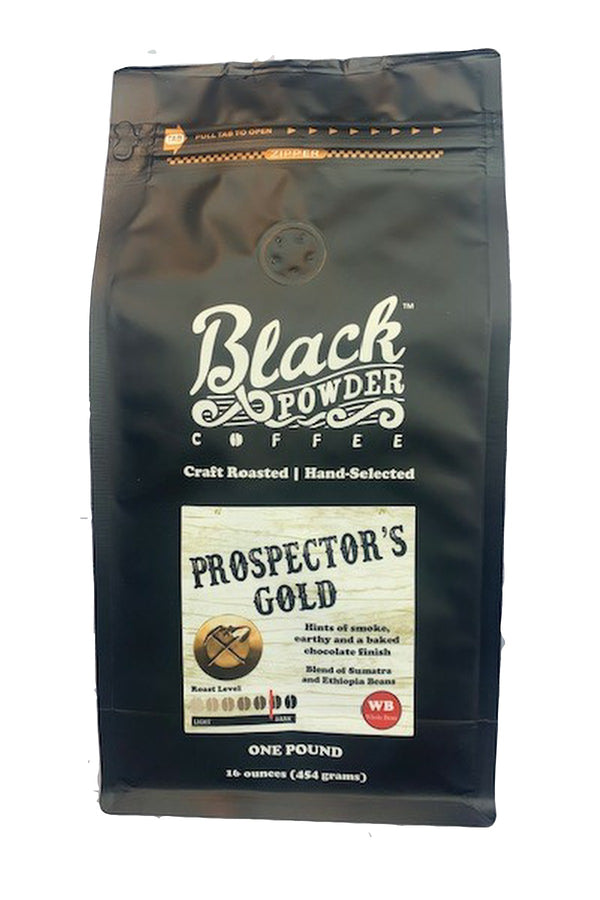 prospectors gold blend craft roasted coffee
